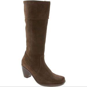 DANSKO Risa Brown Suede Tall Boots